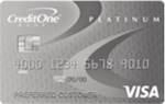Credit One Bank – Visa® Platinum Card