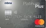 mbna master card platinum plus canada